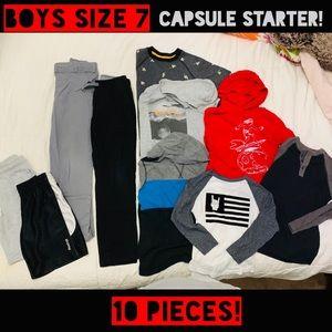 Sz7 Boys 10pc Lot